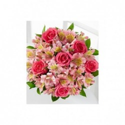 Bouquet Rosas Tallo largo 70 cm .