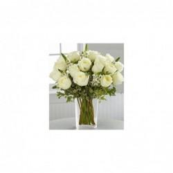 Ramo 12 Rosas Blancas Extra