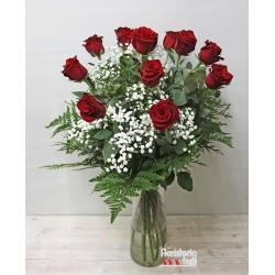Ramo 12 Rosas Premium