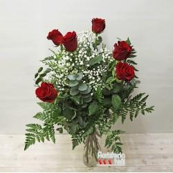 Ramo 6 Rosas Premium