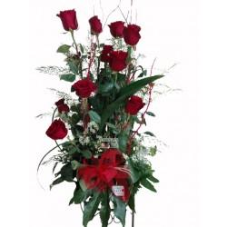 Centro 10 Rosas Premium