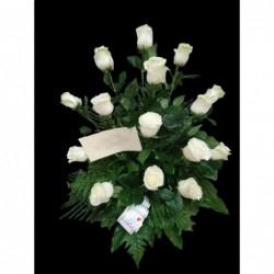 Centro 12 Rosas Premium...
