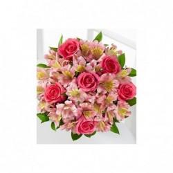 Bouquet 12 Rosas extra.