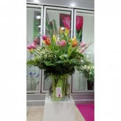 Bouquet Alpujarra con jarrón
